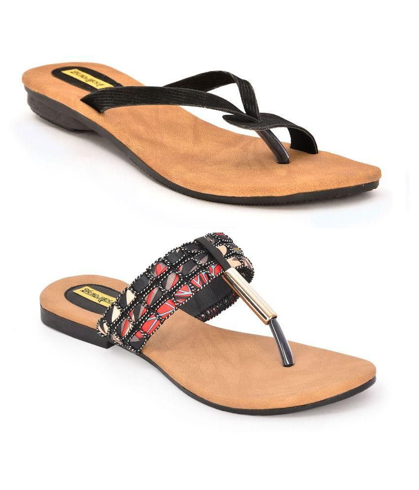 Indirang Multi Color Flats