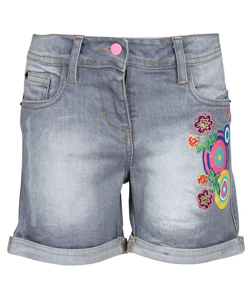 UFO Gray Shorts