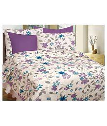 Beautiful Quick View. Divine Casa Queen Cotton Floral Bed Sheet ...