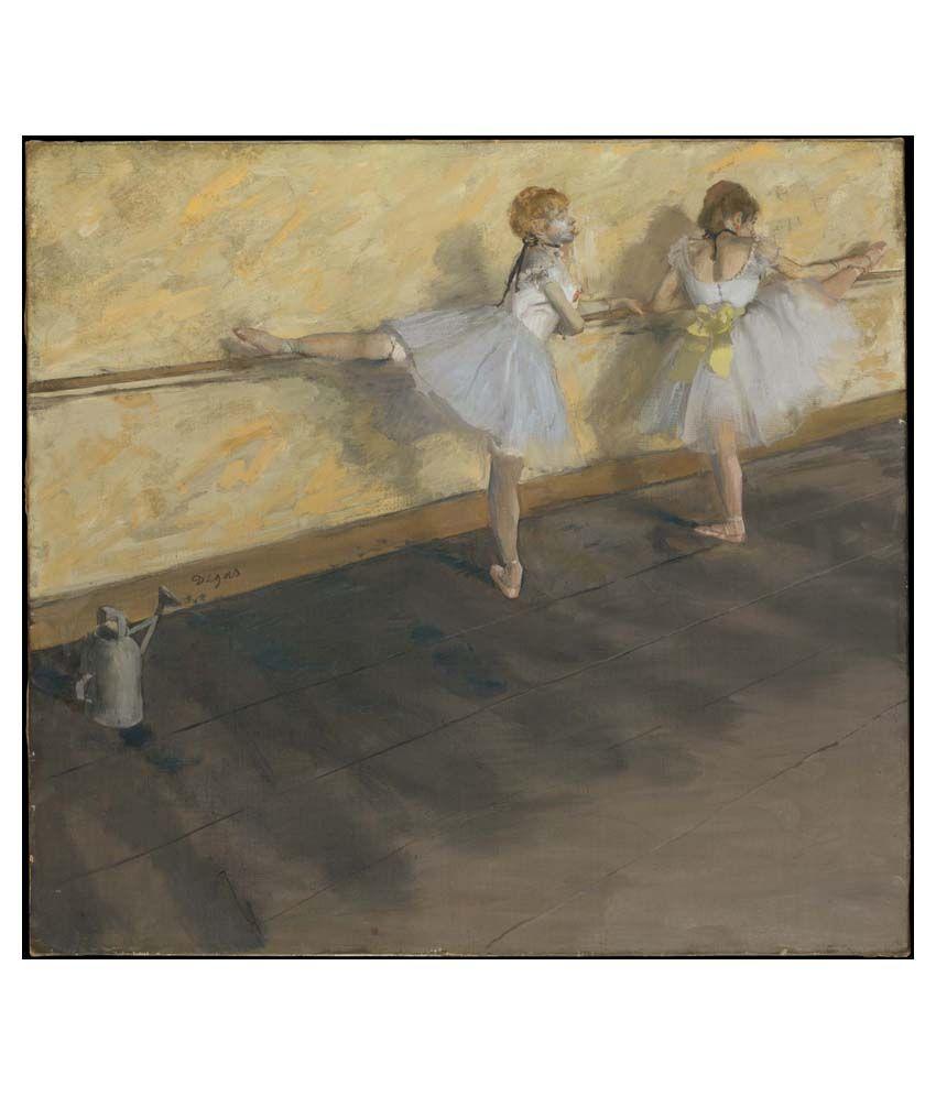 Tallenge Dance Art Canvas Art Prints With Frame Single Piece
