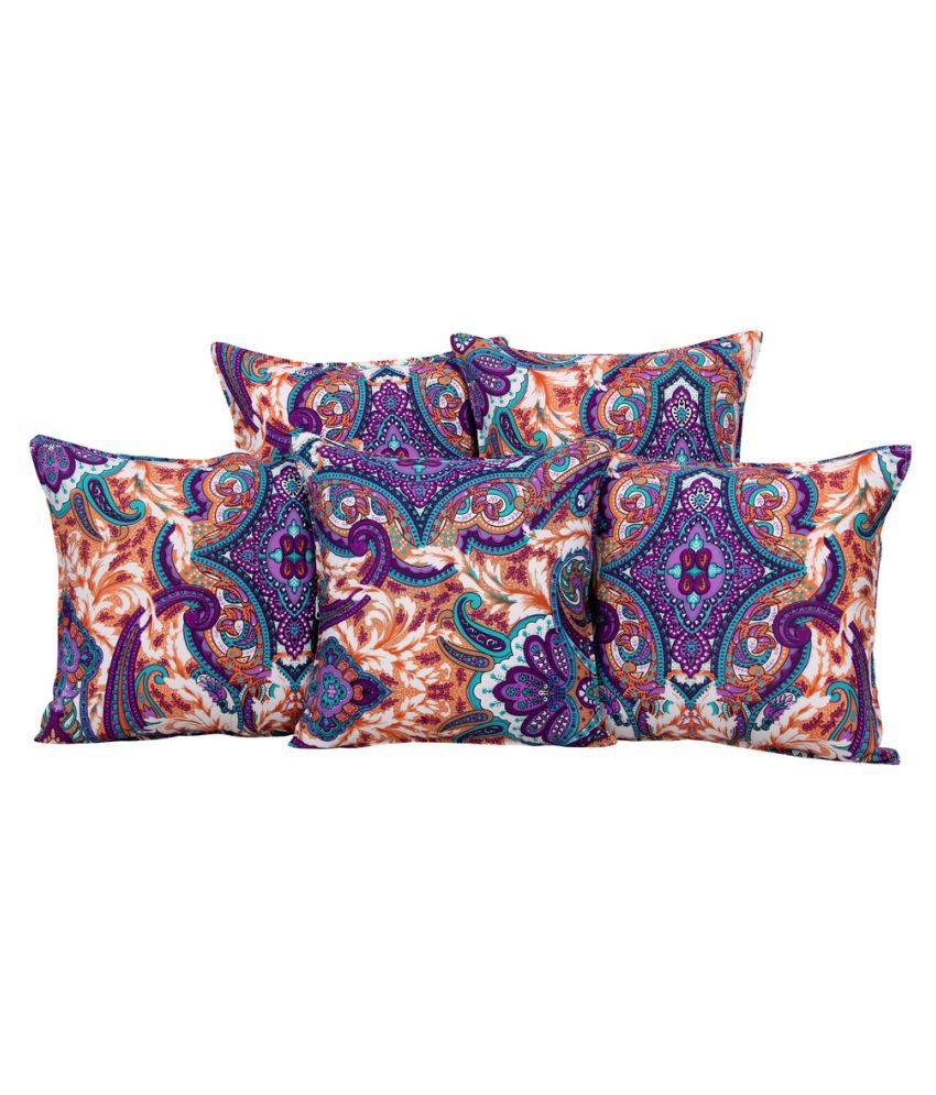 BSB Trendz Set of 5 Cotton Cushion Covers
