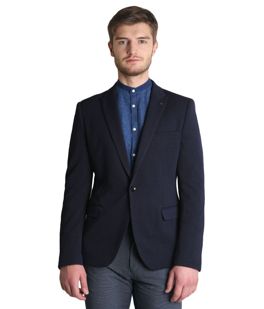 BLACKBERRYS Navy Skinny Fit Blazer
