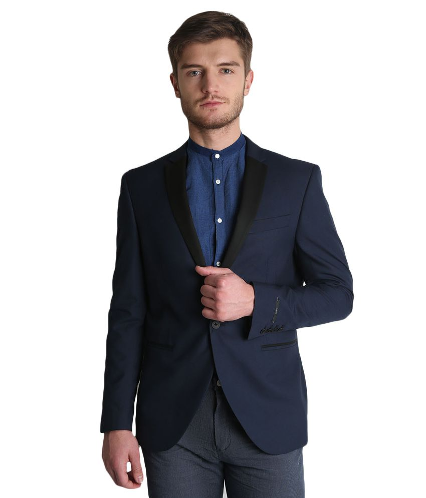 BLACKBERRYS Navy Slim Fit Blazer