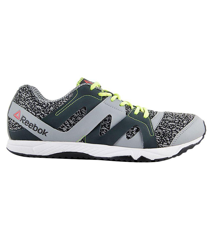 Reebok Run Essence Gray Running Sports Shoes - Buy Reebok Run ... 72f114237