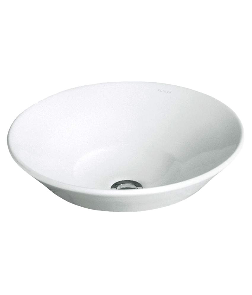 Buy Kohler White Conical Bell Lavatory Online at Low Price in ...