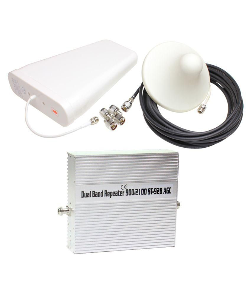 Lintratek St-92b 2G + 3G Mobile Signal Repeater 3200 RJ11 White