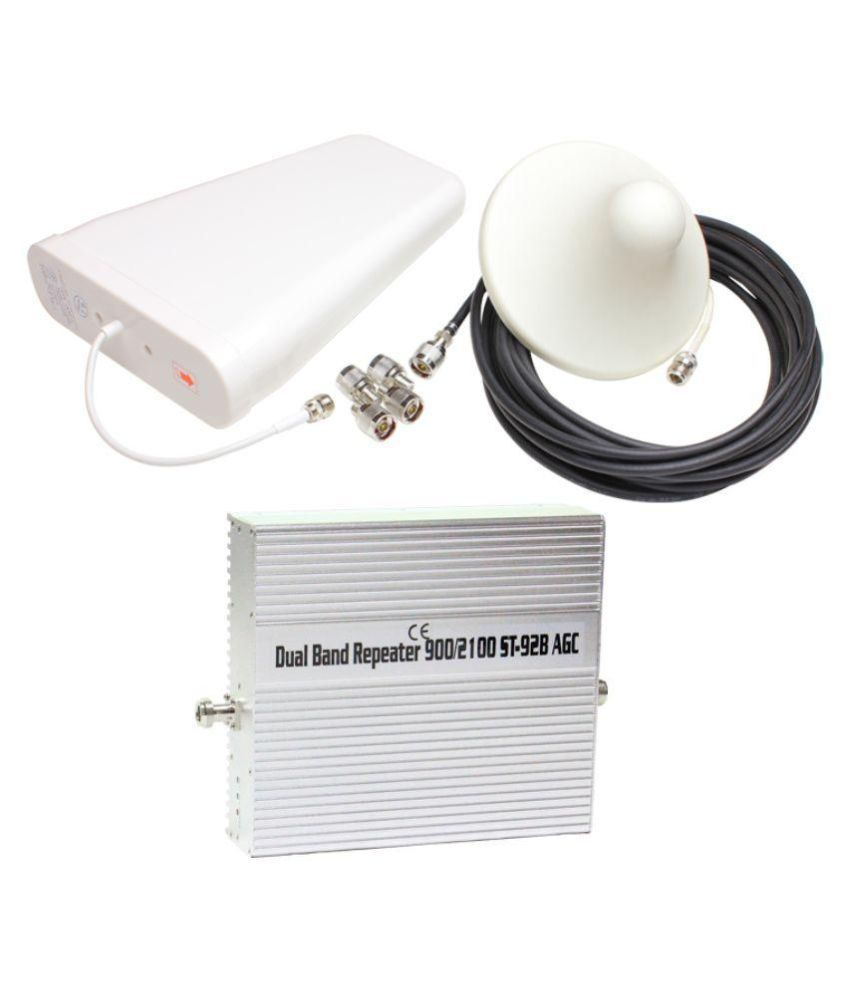 Lintratek ST-92B 900-2100Mhz Dual Band Repeater 1600 RJ11 White
