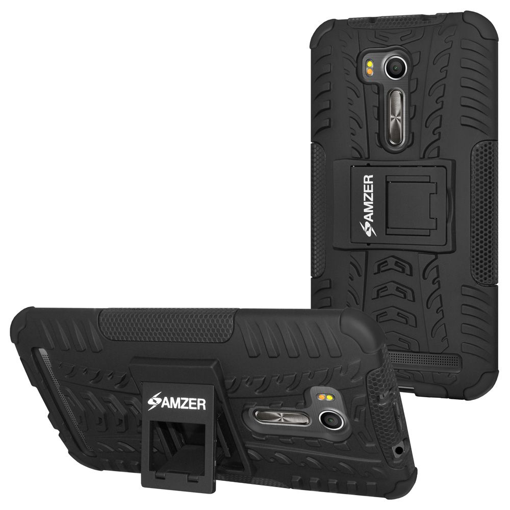 low priced 9dccc 1acdc Amzer Back Cover For Asus Zenfone Go 5.5 ZB551KL, Asus Zenfone Go ZB551KL -  Black