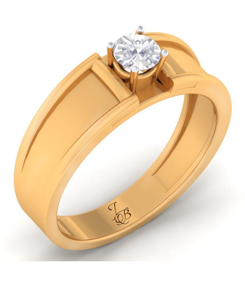 Jewellery Bazaar 18k Yes Yellow Gold Ring