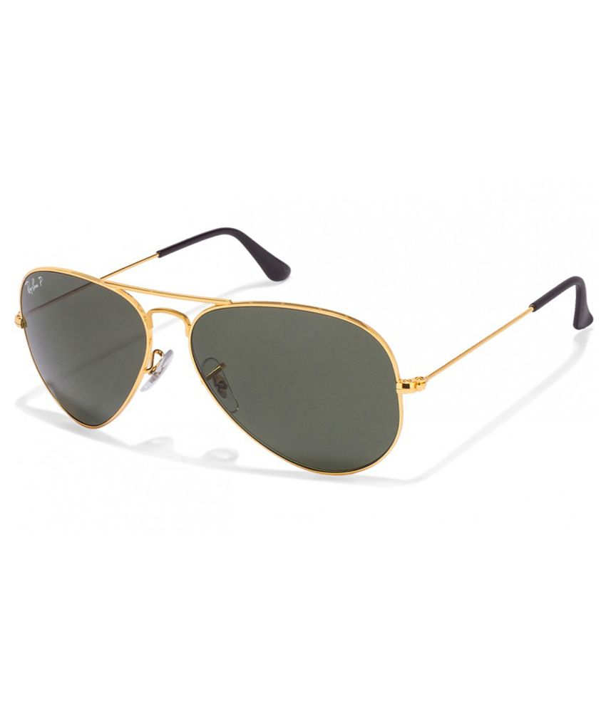 online shopping for ray ban sunglasses  quick view. ray ban green polarized aviator sunglasses