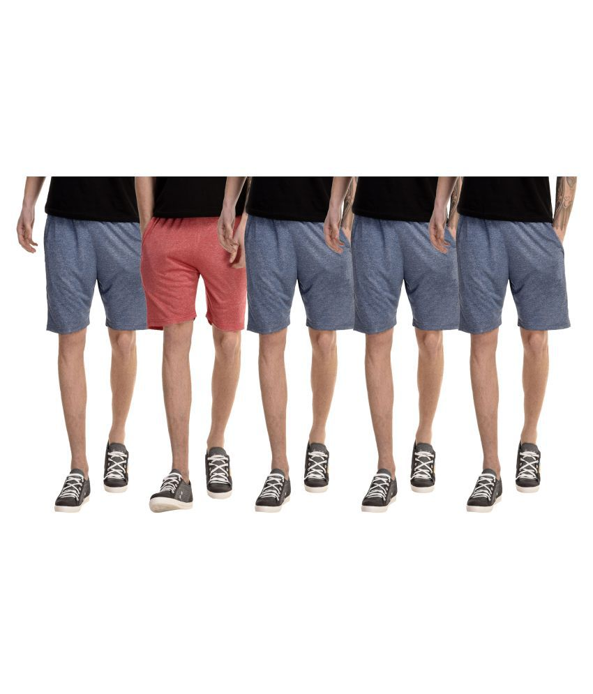Gaushi Multi Shorts Pack of 5
