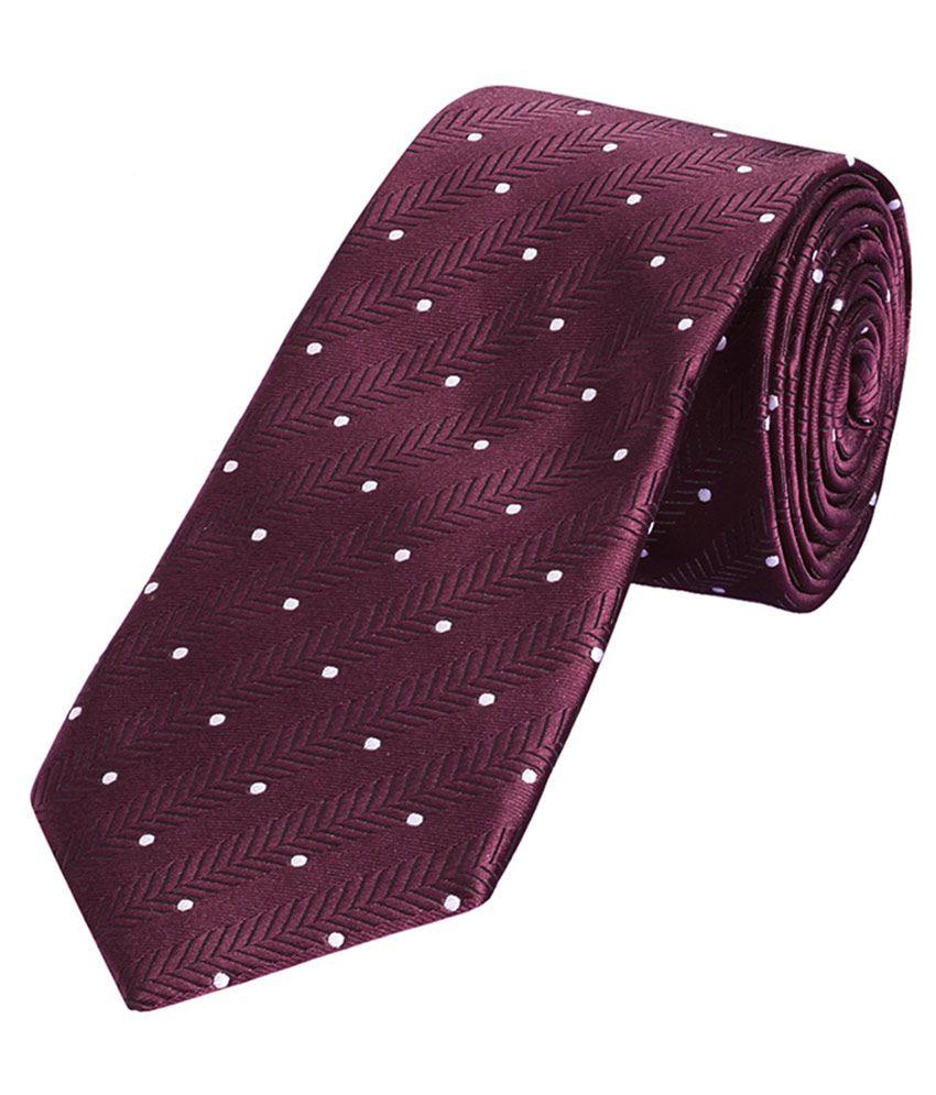 Park Avenue Maroon Formal Necktie