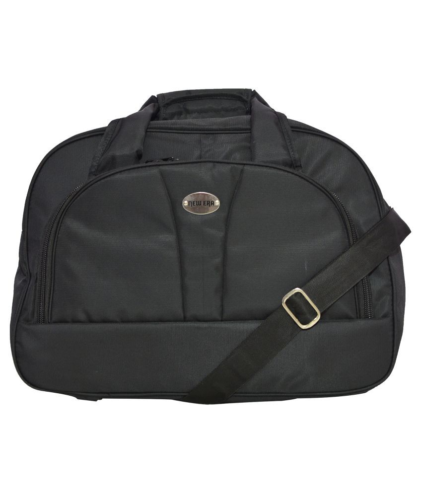 Newera Black Gym Bag