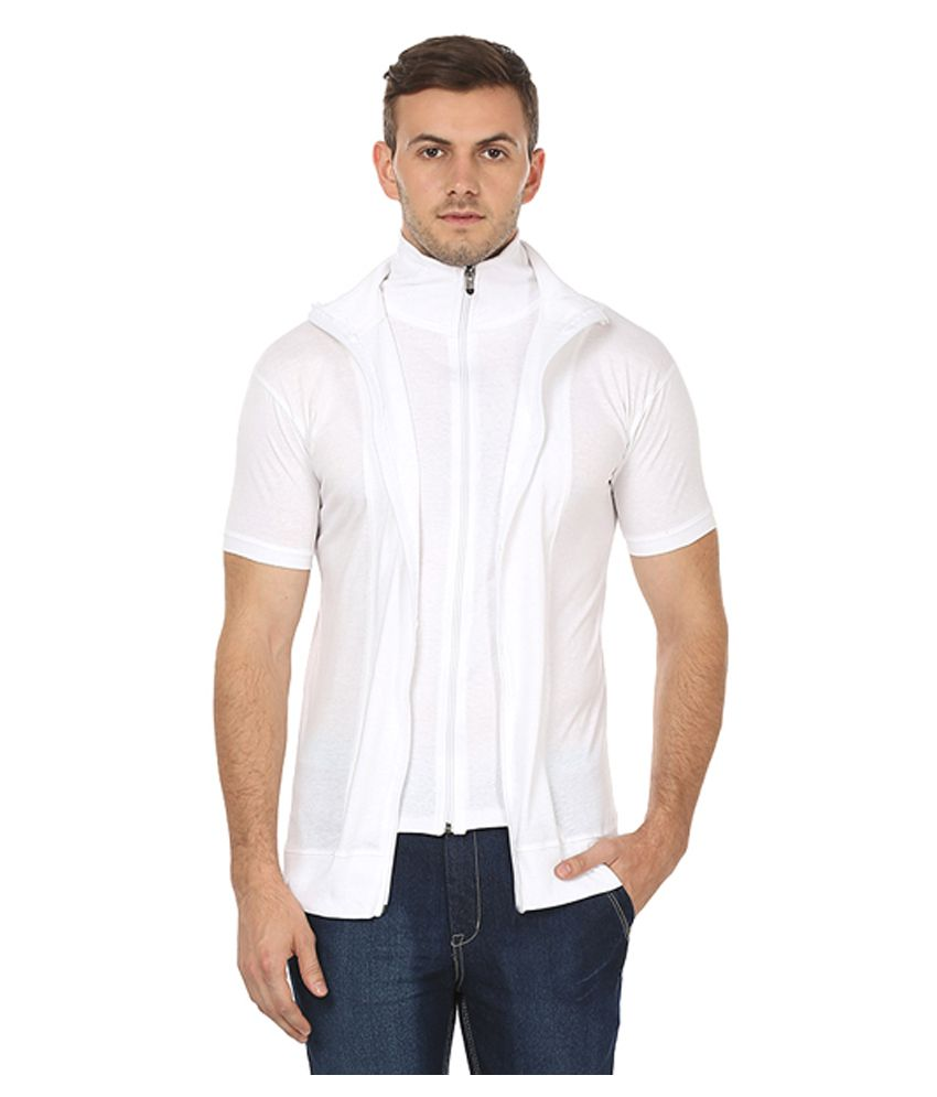 70c62c43b2ae Black Collection White High Neck T-Shirt - Buy Black Collection White High  Neck T-Shirt Online at Low Price - Snapdeal.com