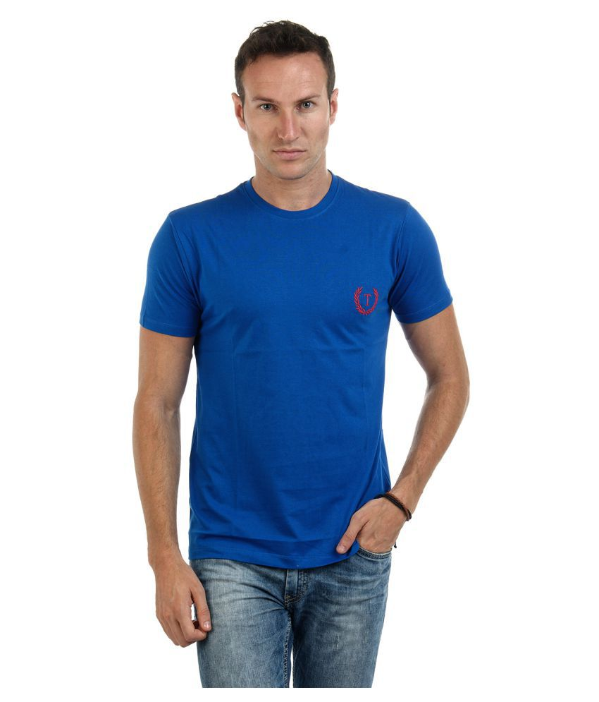 Teen Admire Blue Round T-Shirt