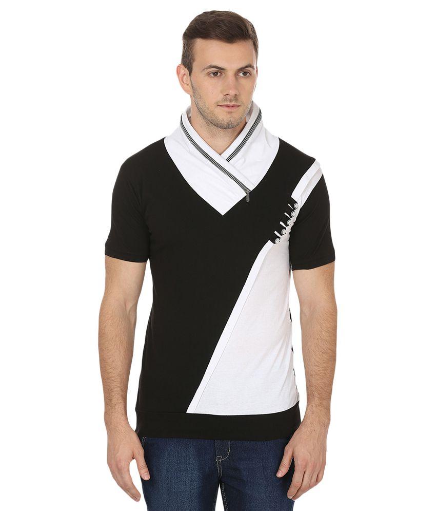 Black Collection Black V-Neck T-Shirt