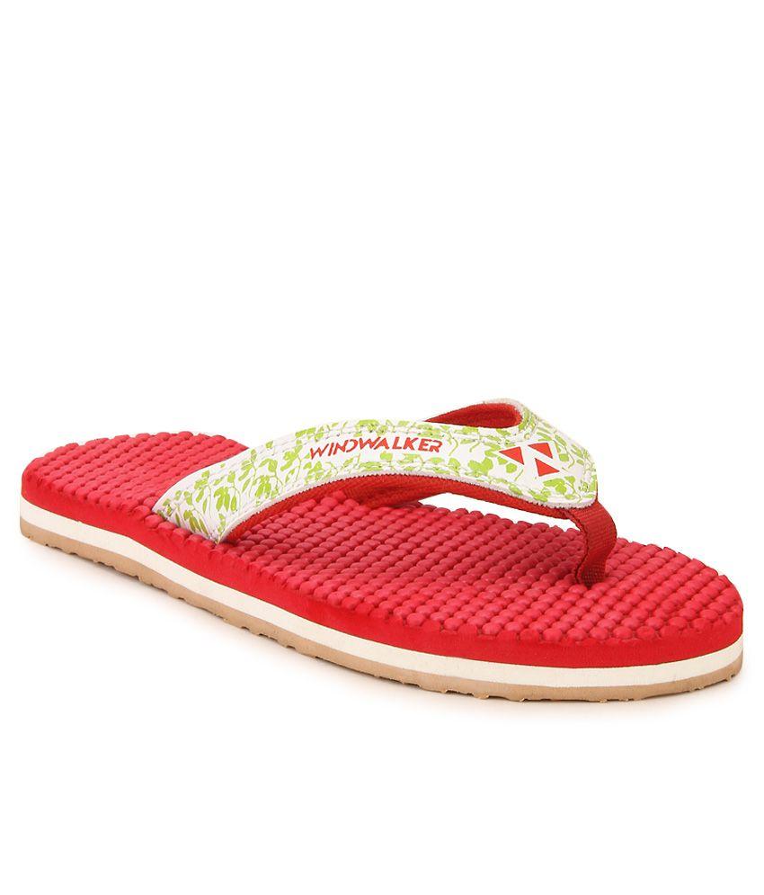 Windwalker IZU 2 Red Flip Flops