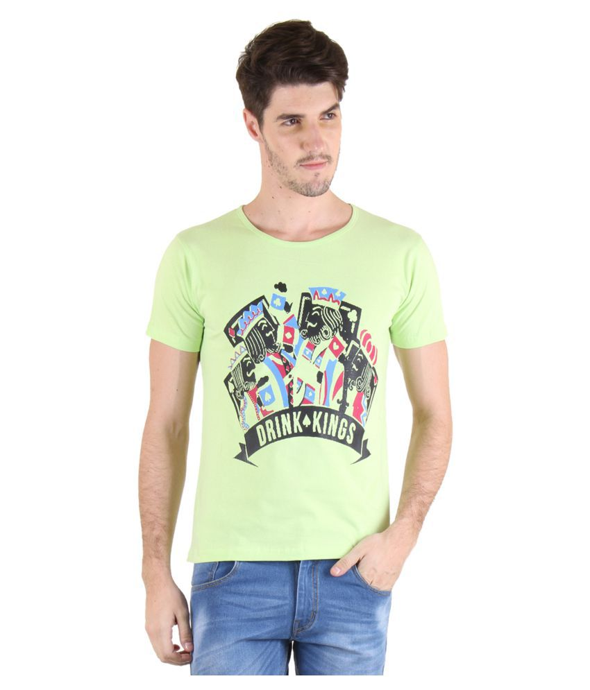 Incynk Green Round T-Shirt