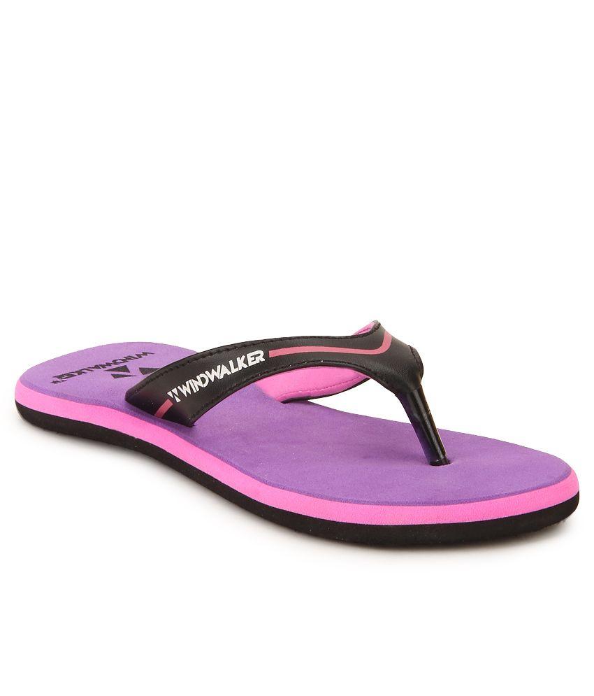 Windwalker Coco Violet Flip Flops