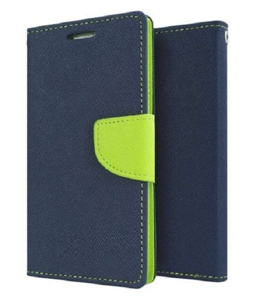 Samsung Galaxy Core 2 Flip Cover by Goospery - Blue