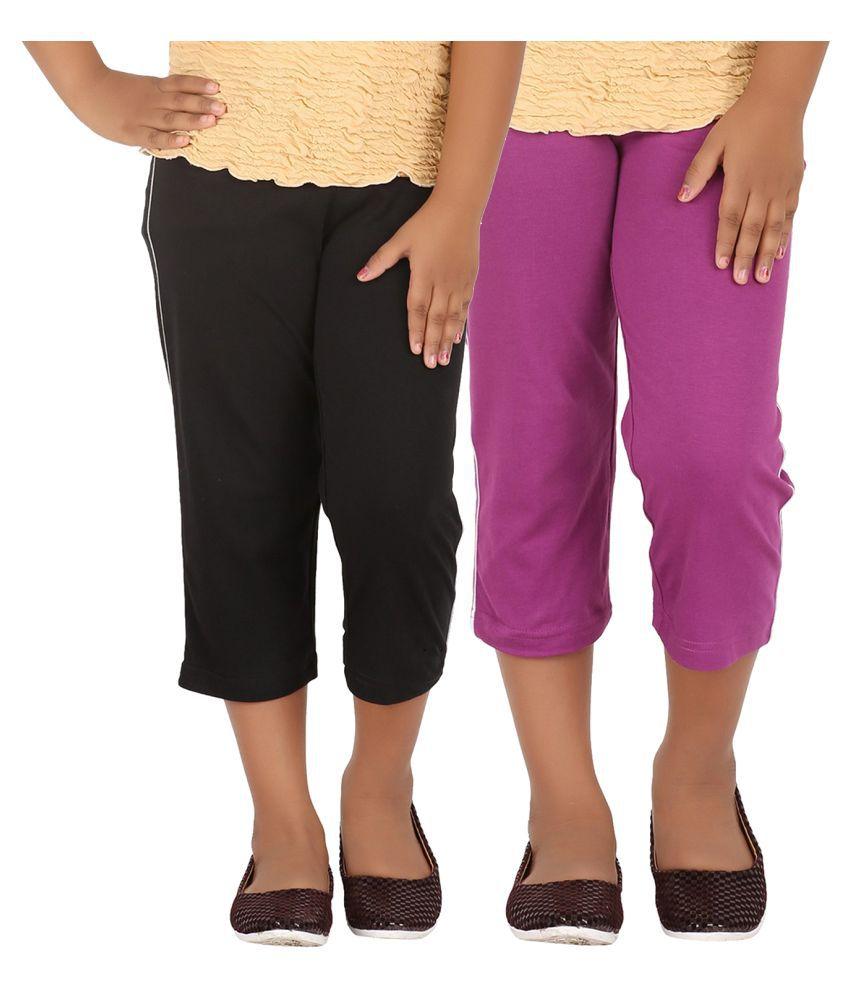 Minnow Multicolor Cotton Bermudas - Pack of 2