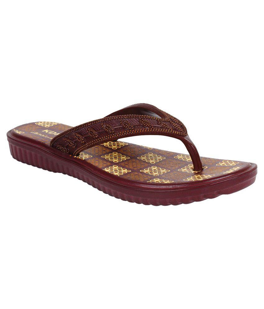 Bersache Brown Slippers