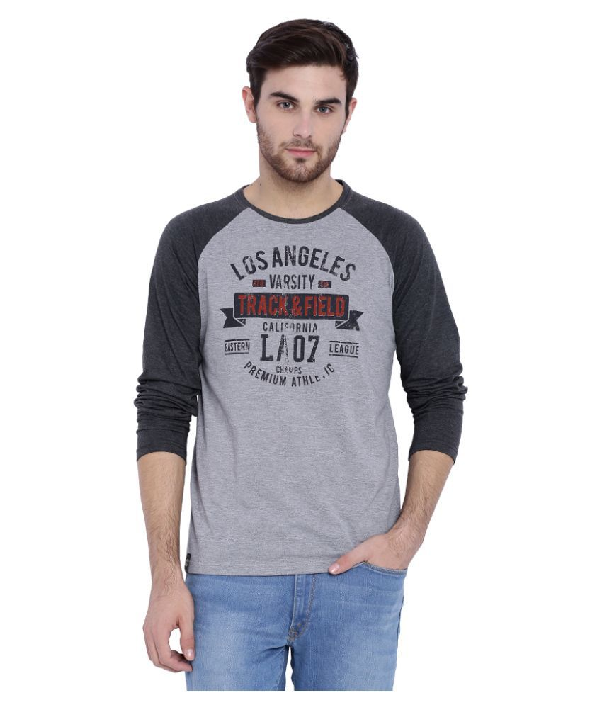 L.A. Seven Grey Round T-Shirt