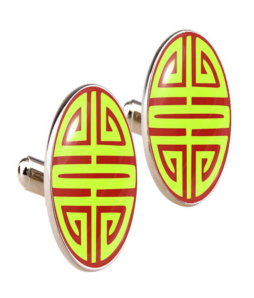 Cuff Tank Multicolor Cufflinks for Men - Set of 2