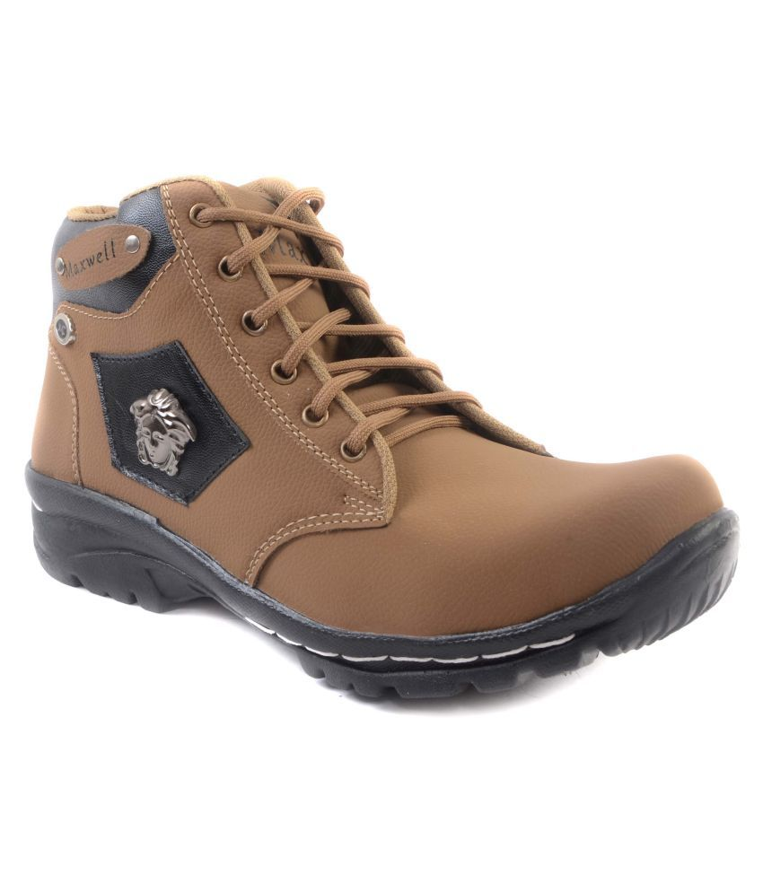 Maxwell Beige Casual Boot