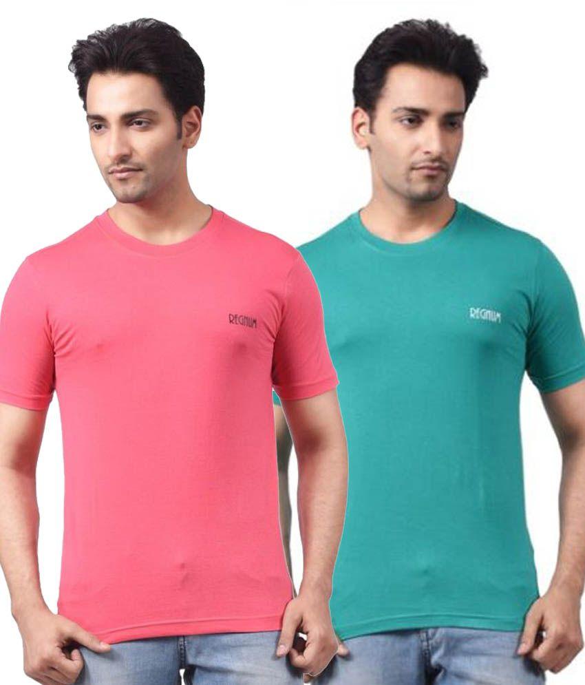 Regnum Multi Round T-Shirt Pack of 2