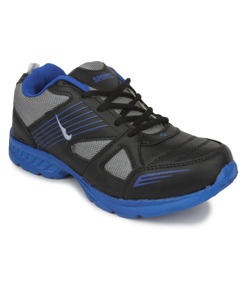 Speed Max Black Running Shoes