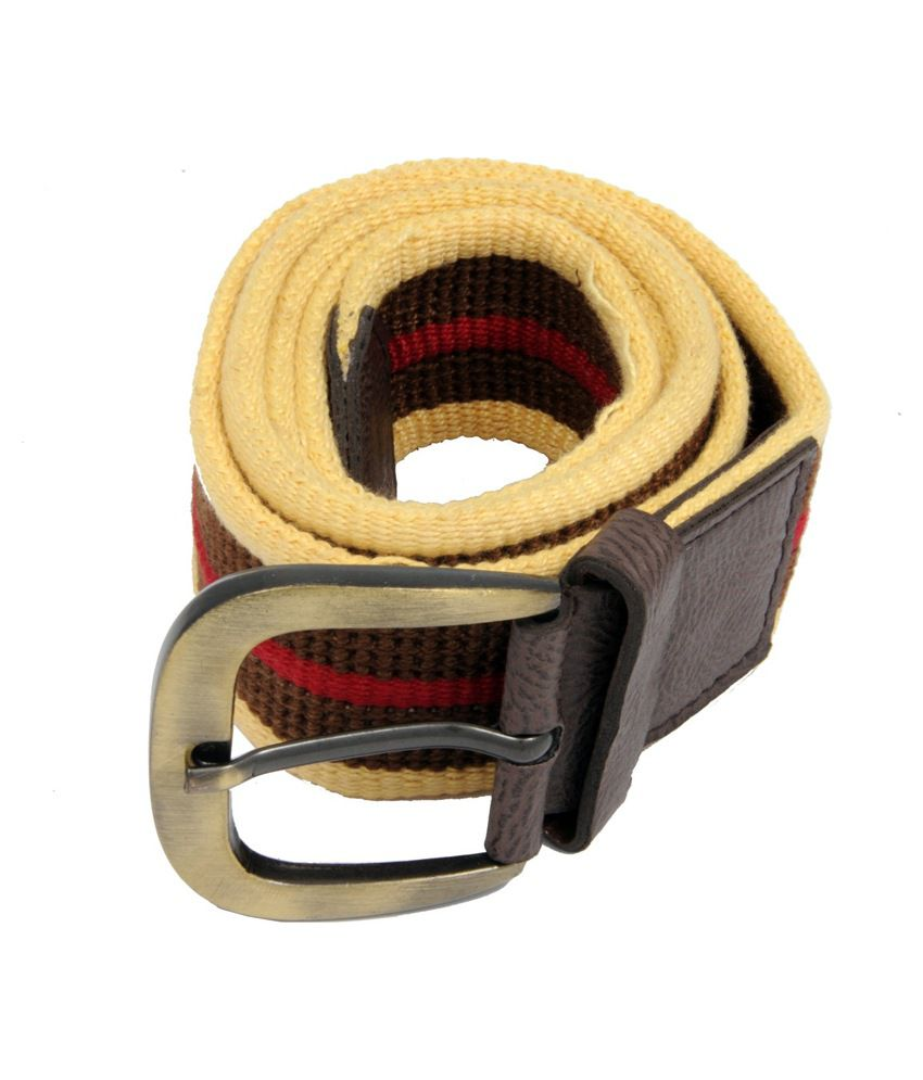 WOAP Multi Fabric Casual Belts