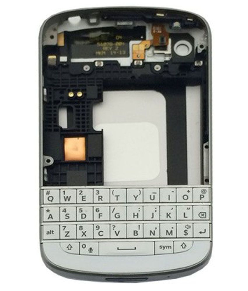 Taaviya Stores Housing Body For Blackberry Q10 White Mobile