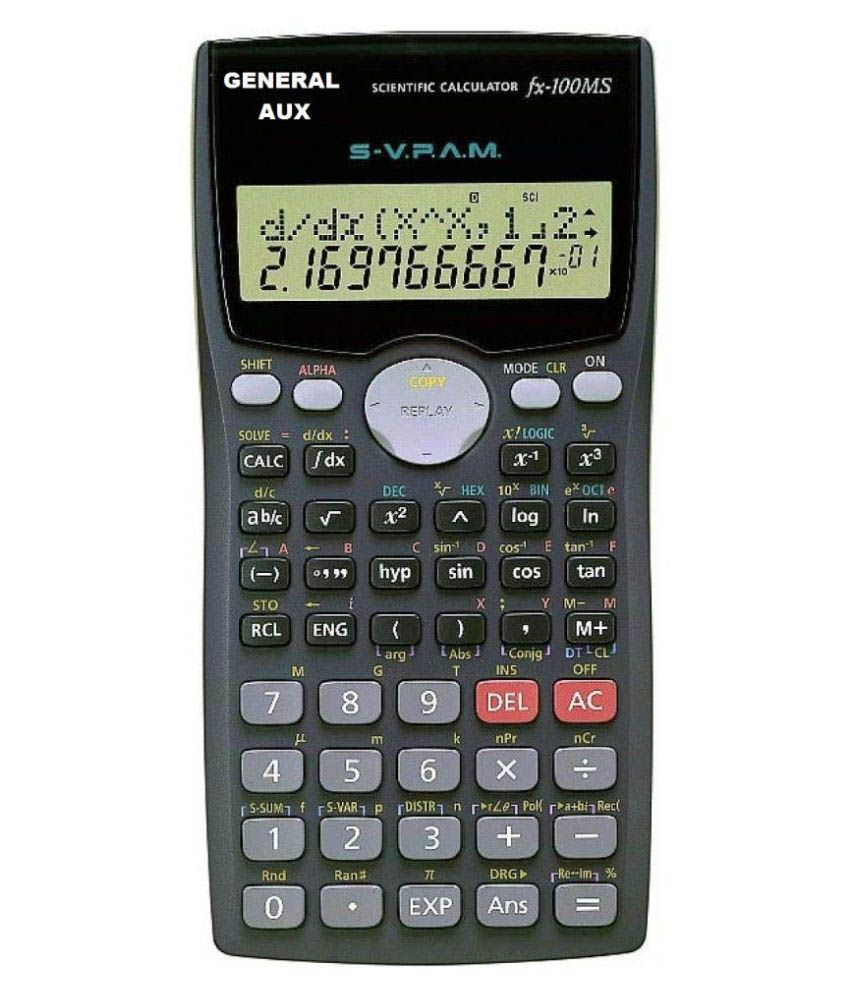 General Aux PRO FX-100 MS Scientific Calculator - 12 Digit