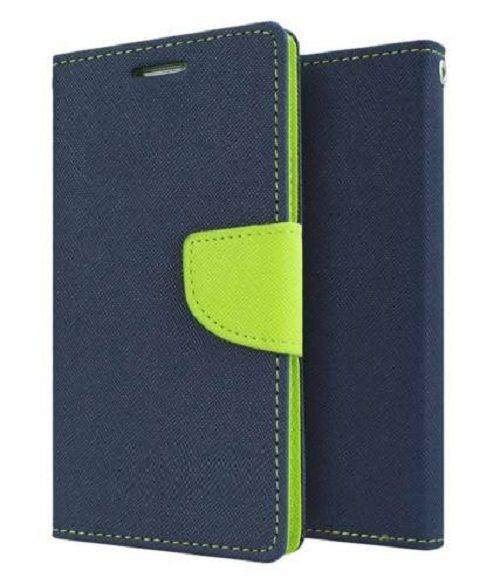 Samsung Galaxy On5 Flip Cover by Goospery - Blue