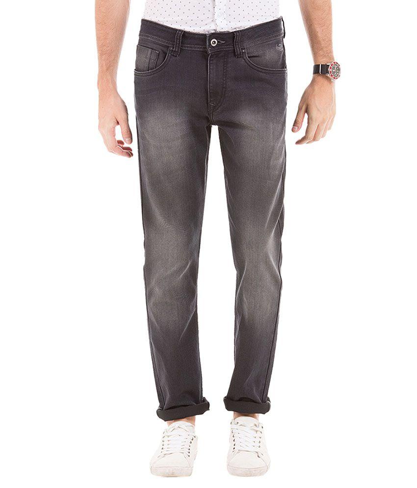 Flying Machine Grey Slim Fit Jeans