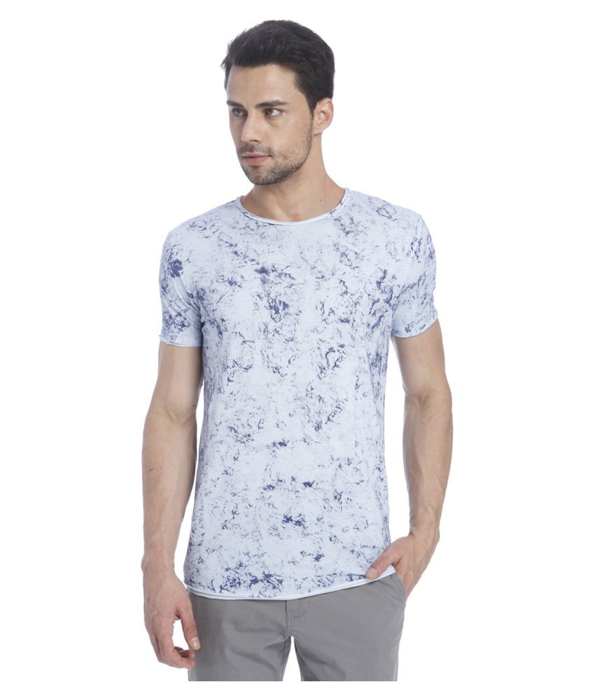 Jack & Jones White Round T-Shirt