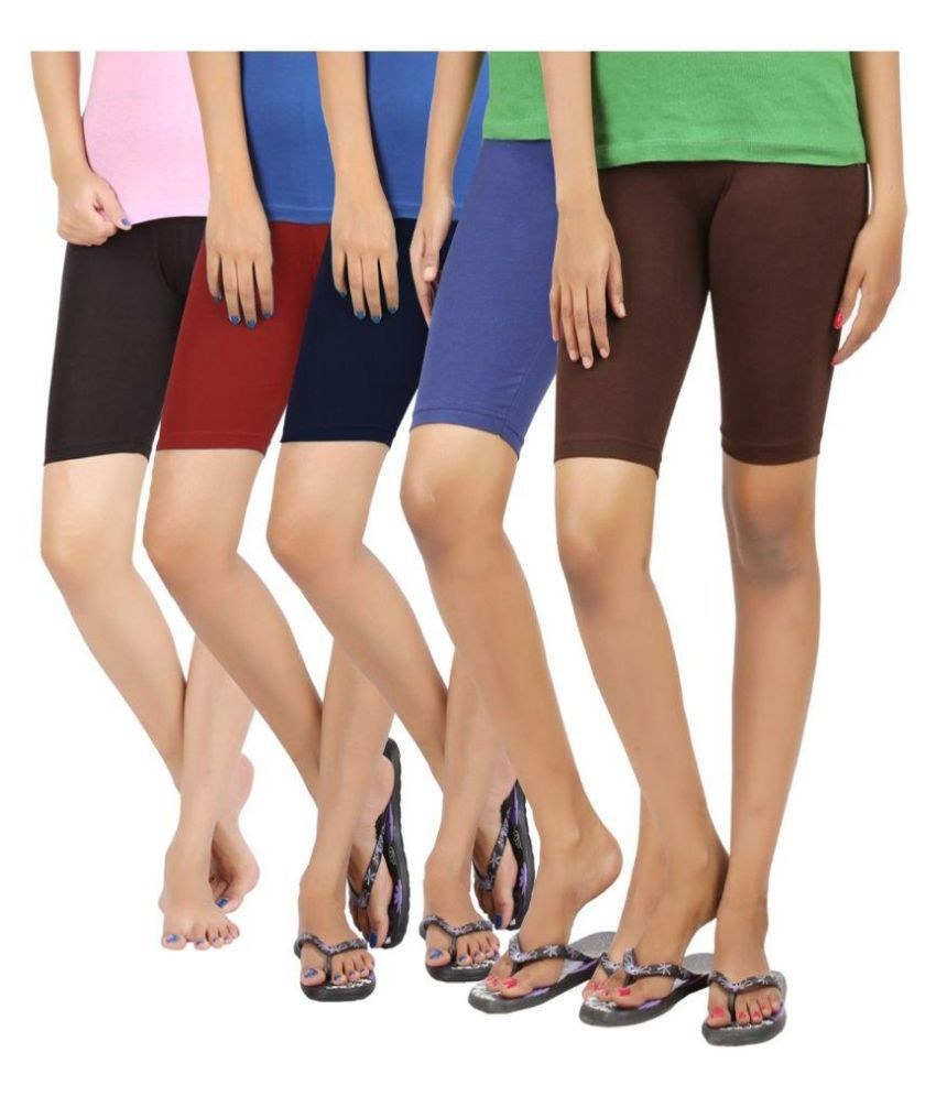 Mirra Multicolour Shorts - Pack of 5