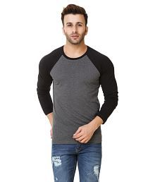 Fabstone Collection Grey Round T-Shirt for sale  Delivered anywhere in India