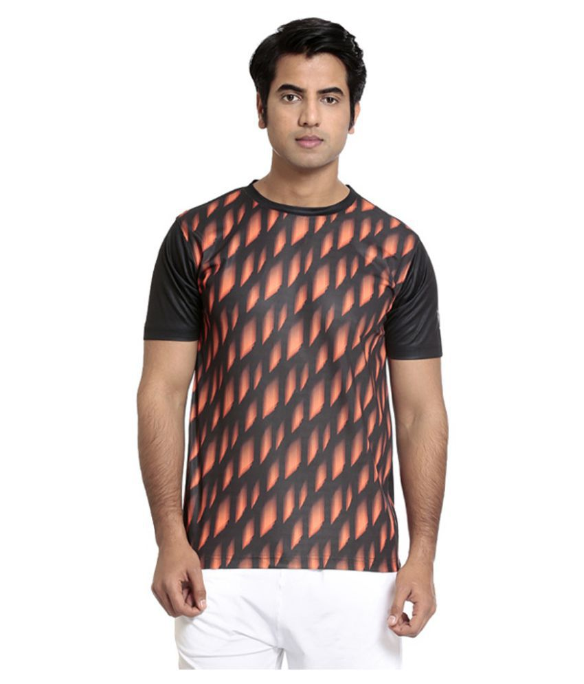 Seven Multicolour Polyester T-Shirt