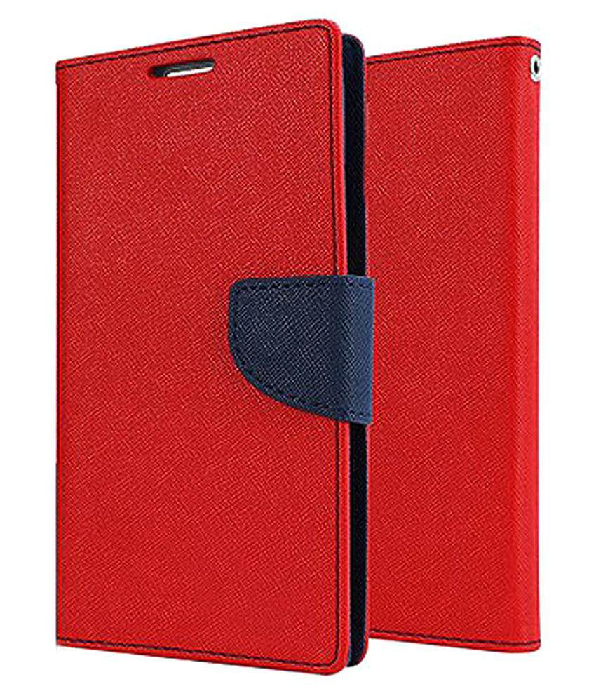 Nokia Lumia 1320 Flip Cover by BeingStylish - Red