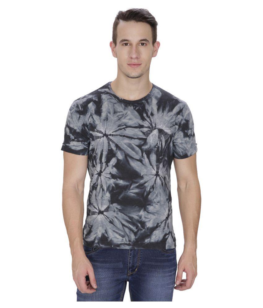 Saint Gauge Black Round T-Shirt
