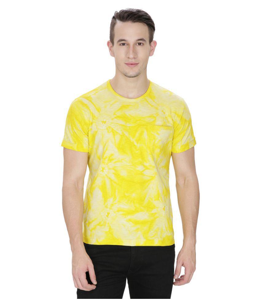Saint Gauge Yellow Round T-Shirt