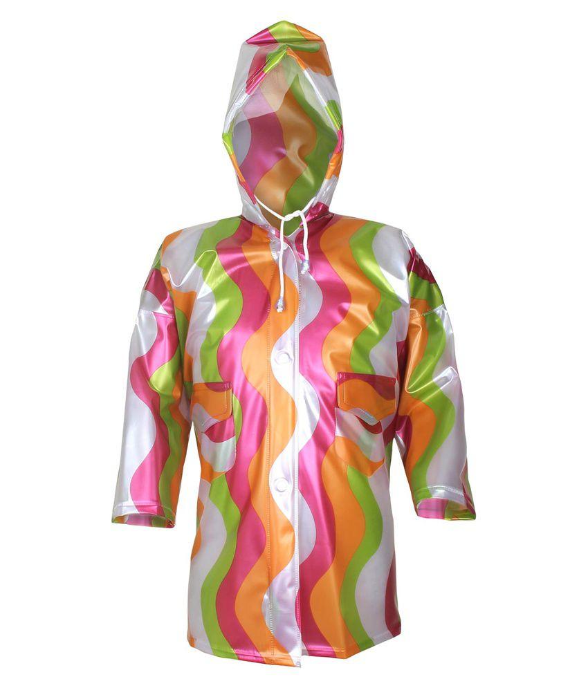 Rehbarrainwear Multicolor Polyester Windcheaters