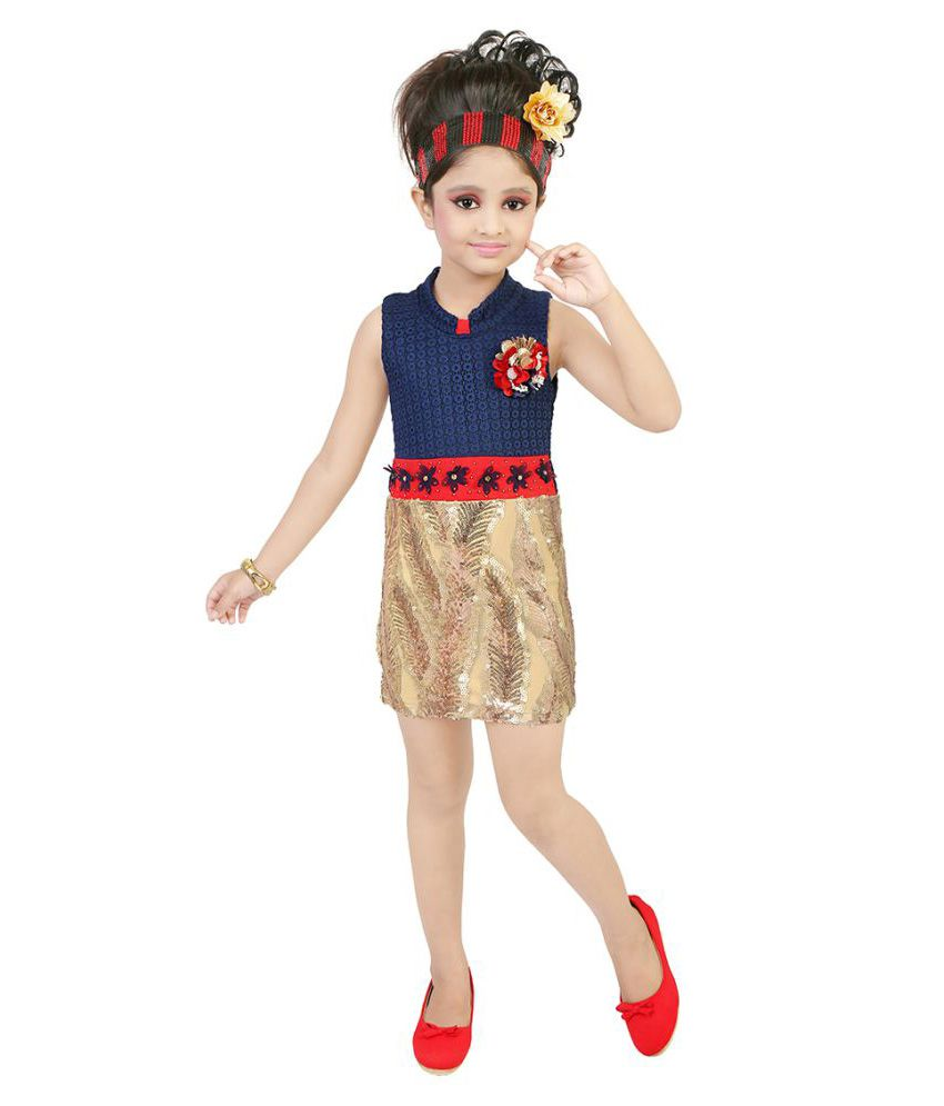 fb04f38e8295a FRENCH CONNECTION KIDS GIRLS DRESS price at Flipkart, Snapdeal, Ebay ...