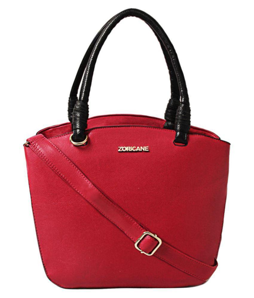 Zoricane Pink Faux Leather Shoulder Bag