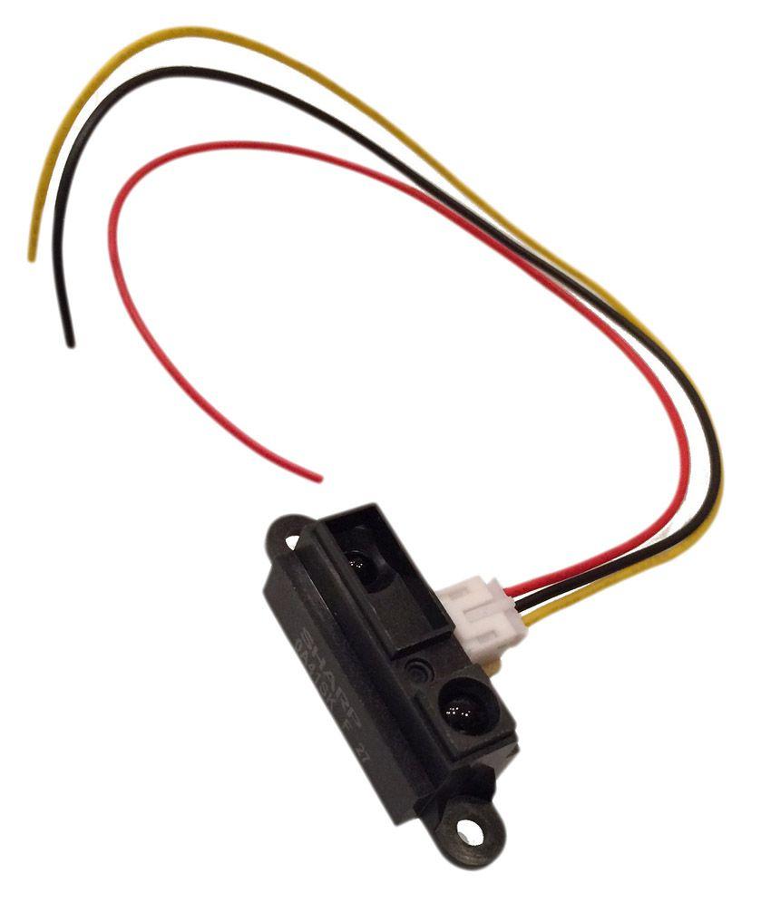 Grab'eM Black GP2Y0A41SK0F (4-30cm) Module
