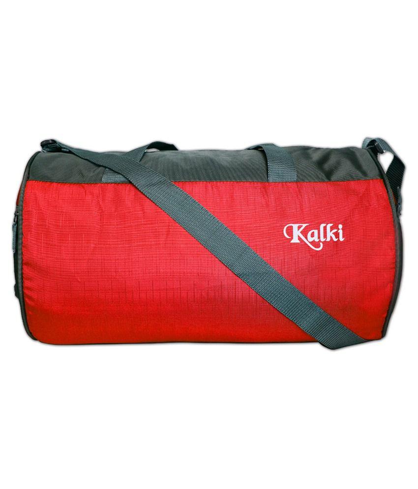 Kalki Red Gym Bag
