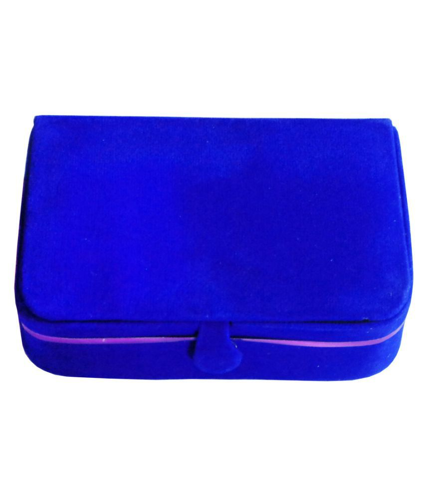 Abhinidi Blue Earrings Box