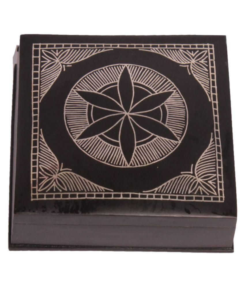 Navrang Alloy Black Multi Purpose Box